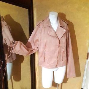 a new day women jacket nude pink size XL